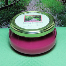 Spring Blossom 6 oz. Tureen Jar Wickless Candle - $6.00