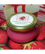 Strawberry Cheesecake 6 oz. Tureen Jar Wickless Candle - $6.00