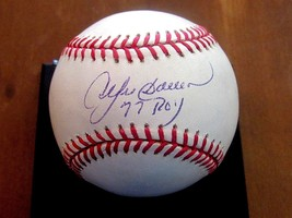 Andre Dawson Roy 77 Expos Cubs Hof Signed Auto Oml Baseball Jsa Authentic - $89.09