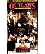 Outlaws The Ten Most Wanted  VHS - $4.95
