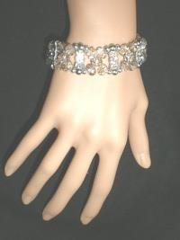 NeW Exquisite Ladies'  Charming  Bling Beads Stretch Sparkle  Bracelet