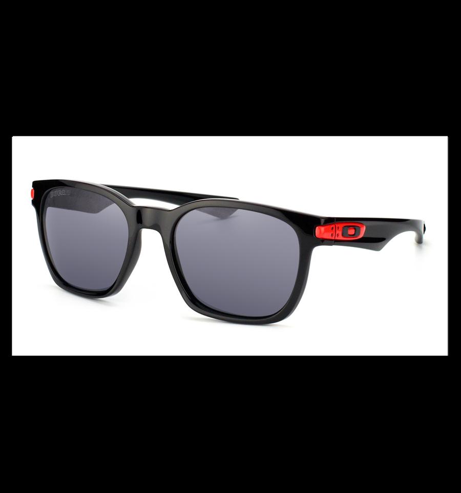 New Oakley Limited Ducati Garage Rock Polished Black w/Grey Polarized 9175-12