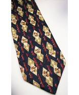 STRUCTURE  BLUE  WHITE DIAMOND ABSTRACT   100 SILK NECKTIE 9 1014 - $7.47
