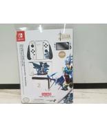 Controller Gear Nintendo Switch Skin & Screen Protector Set  Zelda White - $15.91