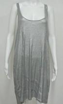 "MICHAEL KORS Silver Sequin Tank Shirt Dress XL Runs like M-L 38-40"" Bst - $39.99"