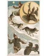 Arbuckle Coffee Esquimau Victorian Trade Card      - $7.00