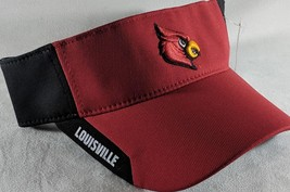 LZ Adidas Climalite Adult One Size Louisville Cardinals NCAA Visor Hat Cap NW D2 - $16.69
