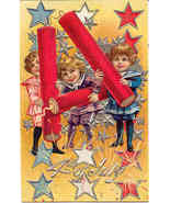 Happy 4th of July Vintage Post Card - £5.34 GBP