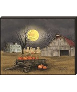 Artistic Reflections Harvest Moon 9x12 Wood Mounted Art Print  - $23.00