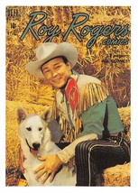 1992 Arrowpatch Roy Rogers Comics Trading Card #32 > Trigger > Happy Trail - $0.99