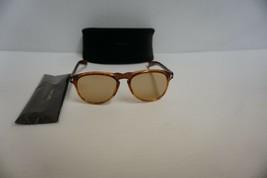 Authentic unisex Tom Ford Sunglasses TF 291 41A honey round frame and lenses - $188.05