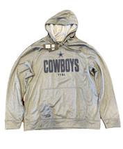 Dallas Cowboys New Era Combine Team Therma Gray Hoodie Jacket Men's Size XL NWT! - $44.54