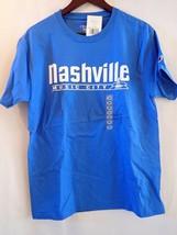 Authentic Nashville Music City Champion Tee Shirt Blue (764) - $5.40
