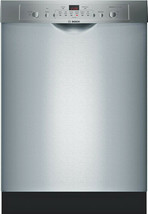 """Bosch SHE3AR75UC 24"""" 100 Series 50 dBA Front Control Dishwasher Stainles... - $346.45"""