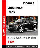 DODGE JOURNEY 2009 FACTORY SERVICE REPAIR WORKSHOP PDF MANUAL ACCESS IN ... - $14.95