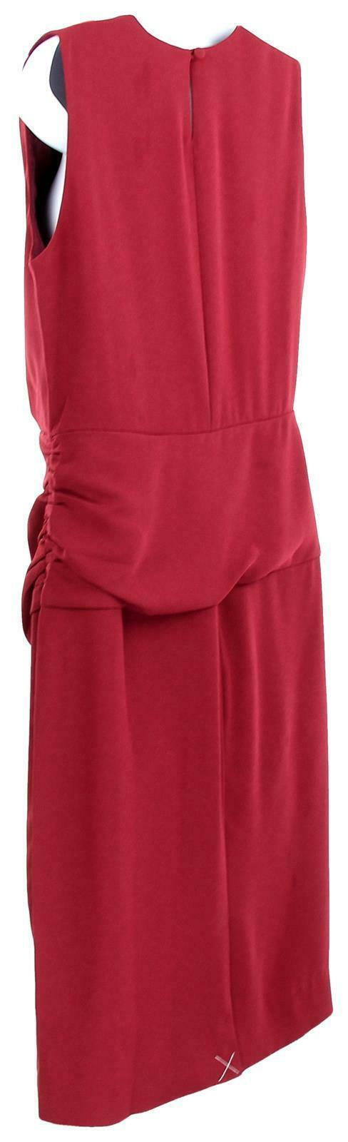 J Crew Women's High Neck Sheath Dress Everyday Lucky Crepe Wear to Work 8 J7452 image 5