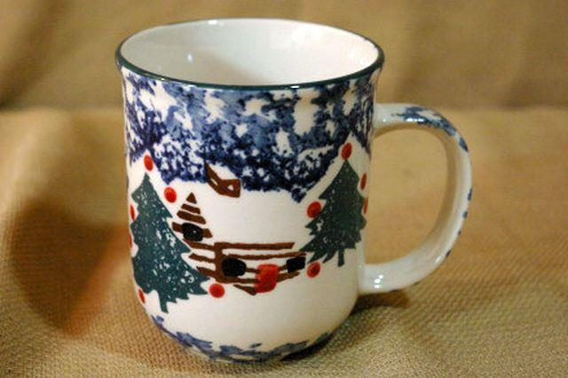 Primary image for Tienshan Cabin In The Snow 10 oz Mug