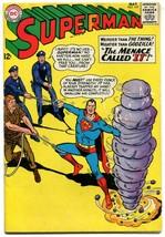 Superman 177 FN 6.0 DC 1965 Silver Age Kryptonite Tale 3 Krypto Story  - $42.56