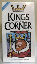 New - Kings In The Corner Card Game Strategy Ages 7 and UP Jax Games - $10.44