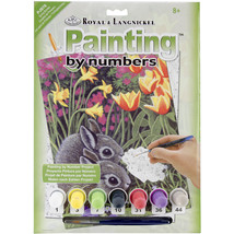 """Junior Small Paint By Number Kit 8.75""""X11.75""""-Spring Bunnies - $9.43"""