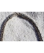 """Stylish Turkish Design Necklace in Solid Sterling Silver 90.10 GRAM 24"""" ... - $188.09"""