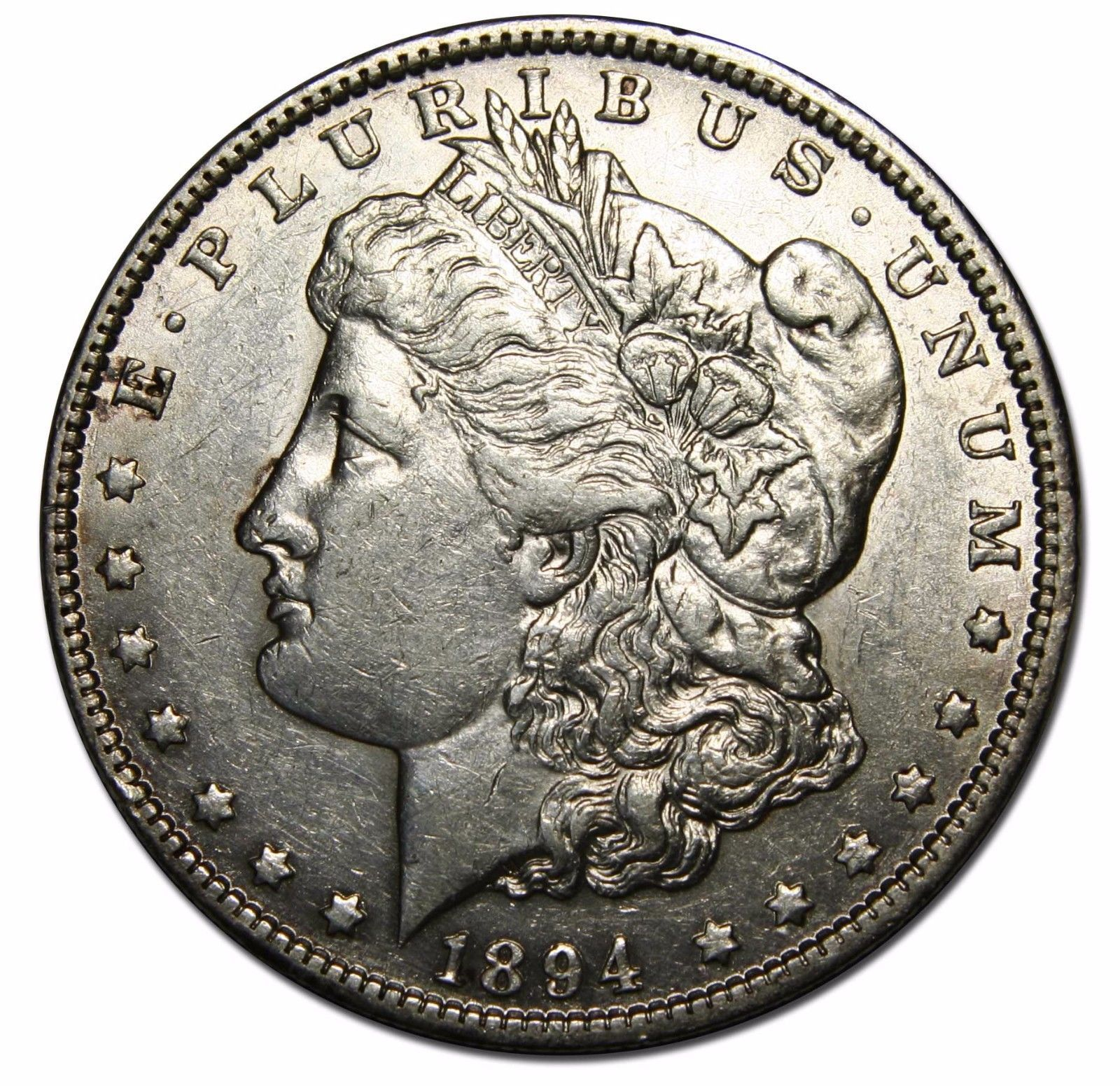 1894O MORGAN SILVER DOLLAR COIN Lot# EA 56