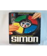Simon 1979 Electronic Game Lights & Sounds Simon Says Milton Bradley Bil... - $31.56