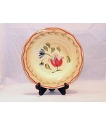 "Pfaltzgraff ""Napoli"" Pattern Salad Plate - Bright Colors, Handpainted Pi... - $6.99"