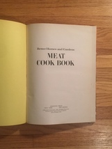 Vintage 1970 Better Homes and Gardens Meat Cook Book- hardcover image 3
