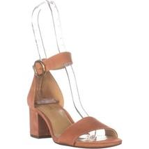 MICHAEL Michael Kors Lena Flex Mid Ankle Strap Block Heel Sandals, Terra... - $44.15