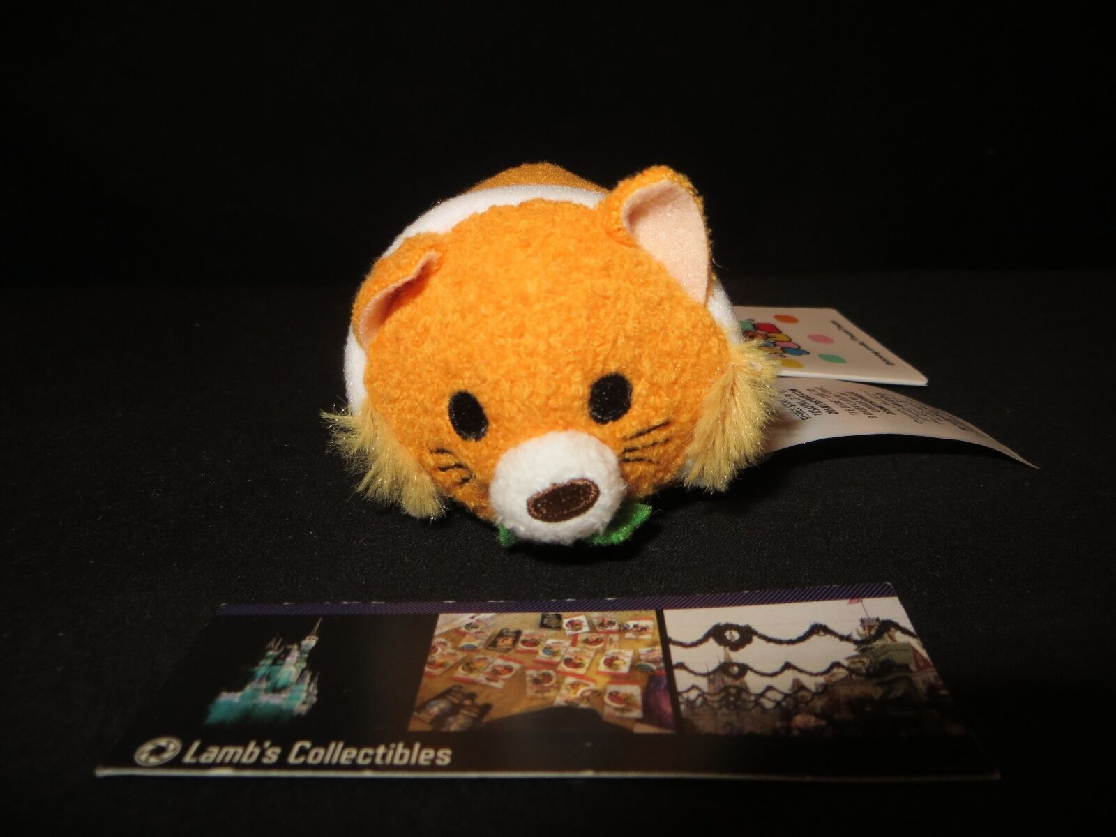 "Primary image for Thomas O'Malley Aristocats Collection Disney Tsum 3.5"" USA Tag Plush Cat Doll"