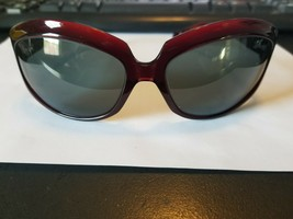 Oliver Peoples La Donna SI Sunglasses Gloss Dark Burgundy  Light Amber Gradient - $41.58