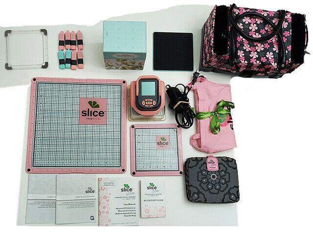 Pink Slice Machine with LOTS of EXTRAS! Cut Shapes with the Slice!