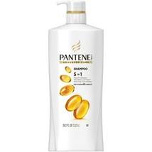 NEW Pantene Advanced Care Shampoo 5 in 1 Pro Vitamin B5 Complex 38.2 FL OZ - $17.81
