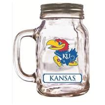 16Oz Mason Jar Kansas Jayhawks  - $12.99