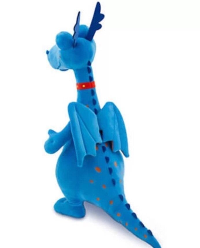"New Disney Store Doc Mcstuffins Stuffy Plush Dragon Large Big 24"" Jumbo Toy"