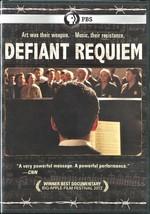 Defiant Requiem - Czech Rafael Schachter's story of courage & hope (New)... - $14.20