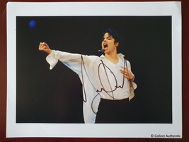 Michael Jackson Autographed 8x10 Photograph COA - #MJ23547 - $695.00