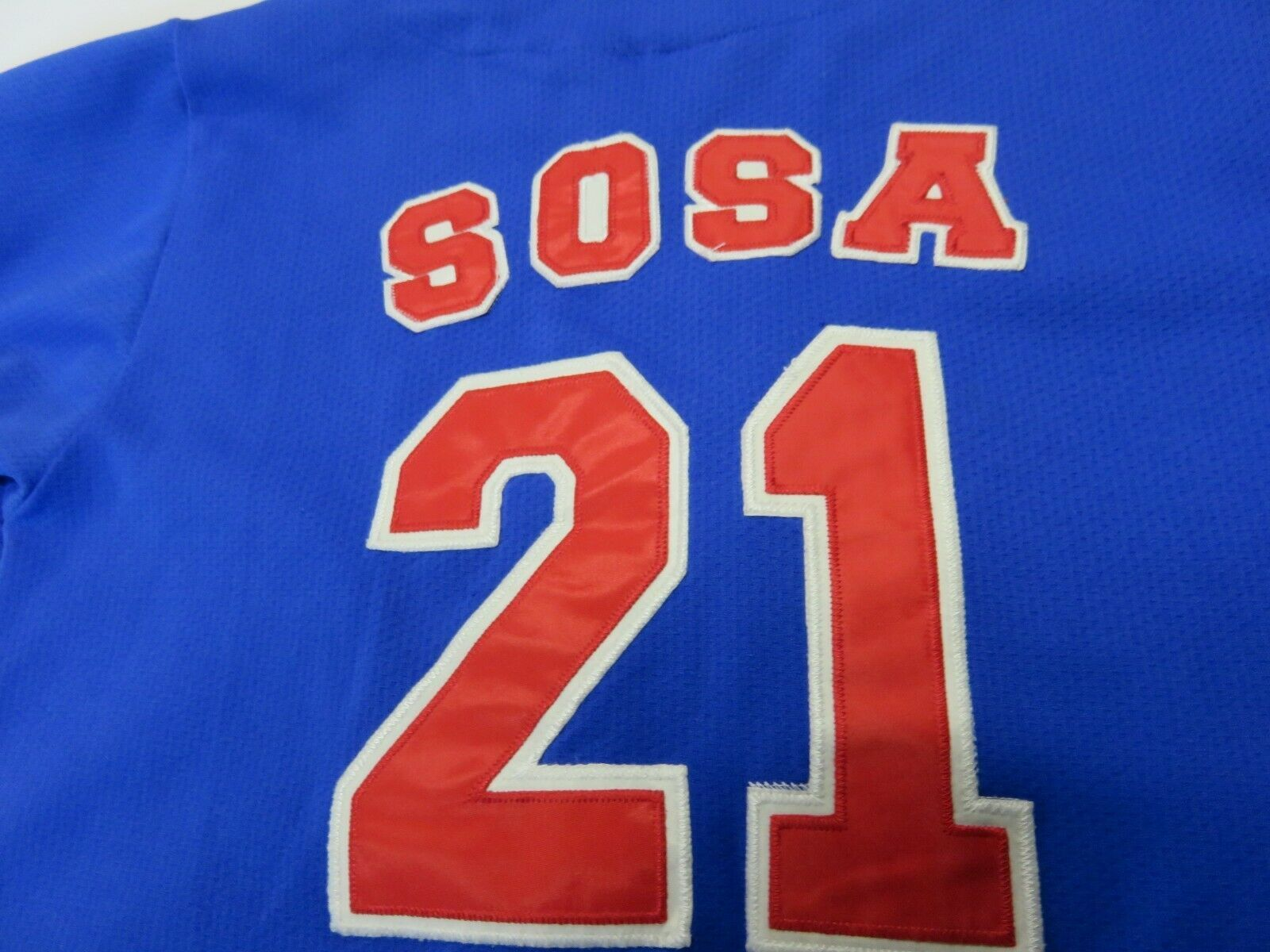 Sport Attack MLB Chicago Cubs Sammy Sosa #21 Baseball Jersey Youth Size Md