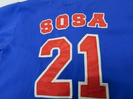Sport Attack MLB Chicago Cubs Sammy Sosa #21 Baseball Jersey Youth Size Md image 6