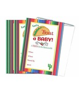 Let's Taco Bout a Baby Fiesta Baby Shower Mama to Be Invitations 20 Coun... - $15.03