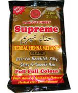 2 PACK! SUPREME Black Color HERBAL HENNA POWDER 150grams  Mehendi USA SE... - $8.00