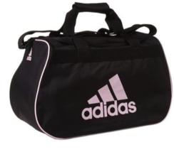 Adidas Women's Diablo Small II Black / Pink Duffle Gym Bag - $24.74
