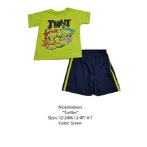 DISNEY KIDS SET (2T, GREEN NINJA TURTLES) - $8.81