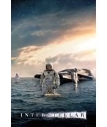 Interstellar Movie Poster fea. Matthew McConaughey Explorer size 24x36 - $24.00