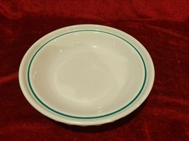 """Longaberger Woven Traditions Heritage Green 32 oz Pie Baker Plate 10 1/4"""" - $26.72"""