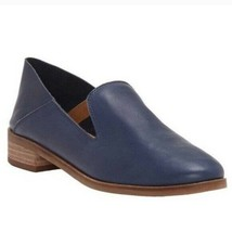 Lucky Brand Blue Cahill Slip On Loafers Flats Womens 9.5W - $29.69