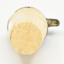 South African Cast Metal w Antique Brass Finish Rhino Wine Bottle Cork Stopper image 5