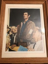 """""""Freedom Of Speech"""", February 21,1943 Framed Giclee Print by Norman Rock... - $37.04"""