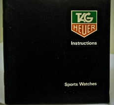 Tag Heuer For Quartz Sport Watches Instructions Booklet - $24.70